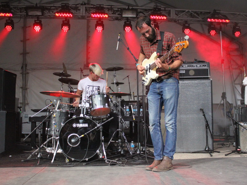 Viet Cong perform at Olympic Plaza // Liv Ingram