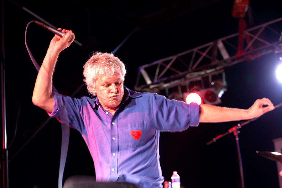 Bob Pollard of Guided by Voices performs in 2011. // Courtesy lenovaphotolibrary