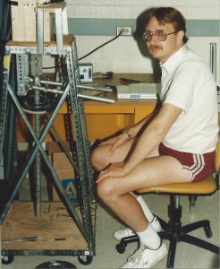 ANTHONY RUSSELL RESEARCH LAB ATHENS OHIO SUMMER 1986