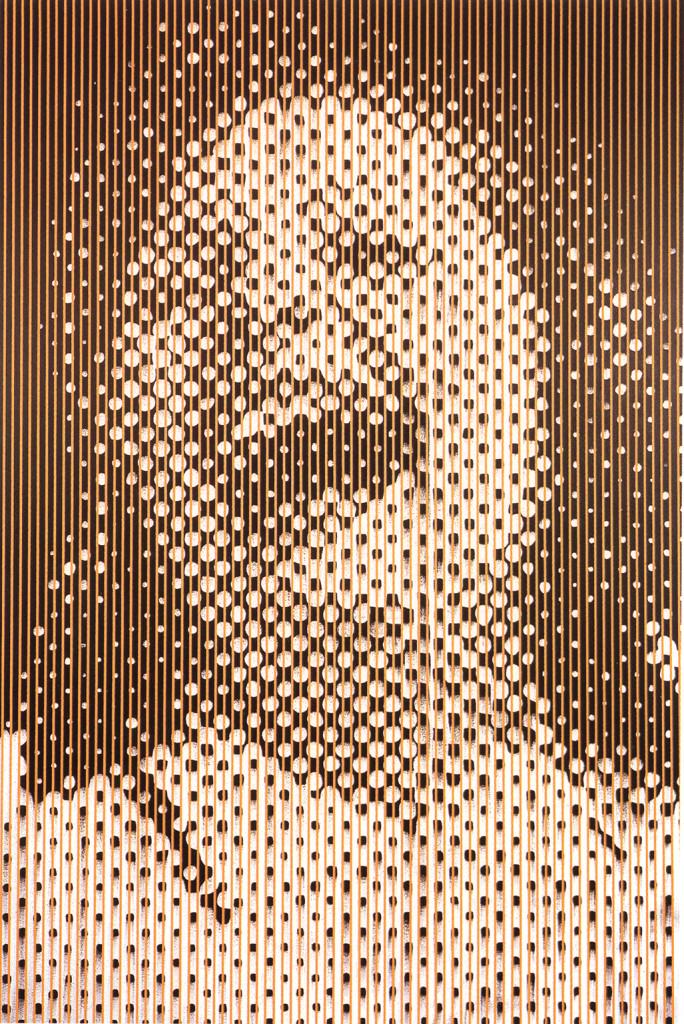C.Cran-LargeOrangeLaughingWoman'91