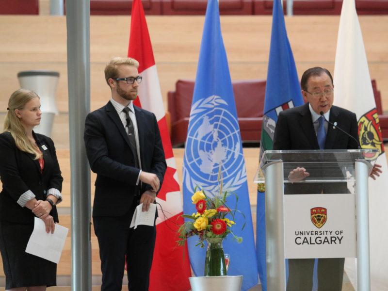 Ban Ki-moon melanie woods