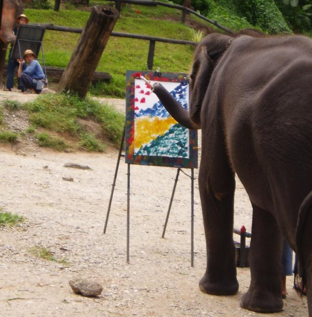 HUM_ElephantPainting_Sep22