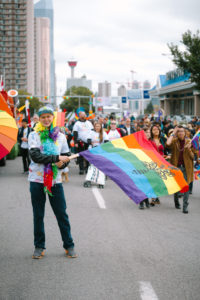 More than 4.000 people and 140 organizations participated in Calgary Pride Parade last September. // Photo by Justin Quaintance