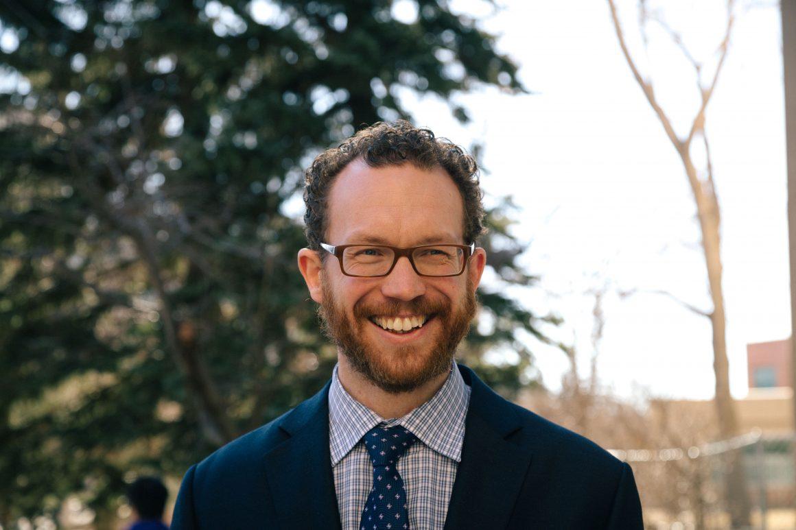 Minister of Advanced Education Marlin Schmitt. // Photo by Scott Strasser