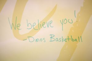 The on-campus #IBelieveYou campaign will run until Sept. 15. //