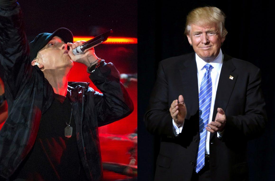 OPS_EminemTrump_EJHersom(L)GageSkidmore(R)